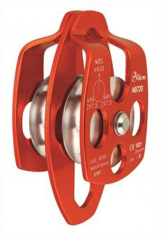 Big Double Pulley - Umlenkrolle orange