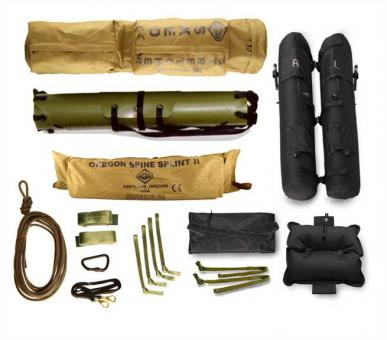 Sked Complete Rescue System camouflage green