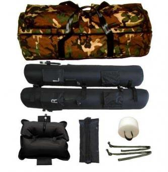 Sked Rapid Deployment Water Rescue System, cobra buckle version camouflage green | Cobra Buckles