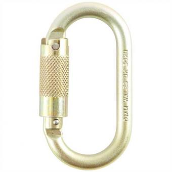 Oval 10mm - Triact Karabiner Tri-Lock