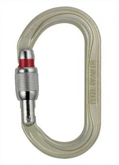 Oxan - Karabiner Screw-Lock | grau
