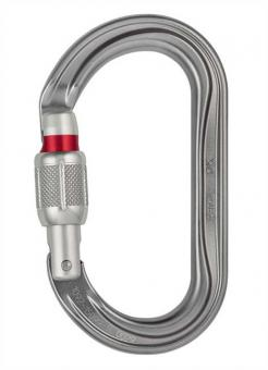 OK - Karabiner Screw-Lock | grau