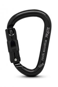Pirate - Karabiner black | Automatik-Lock
