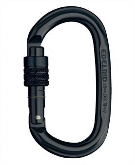 Oval Power 2400 - Karabiner night | Screw-Lock