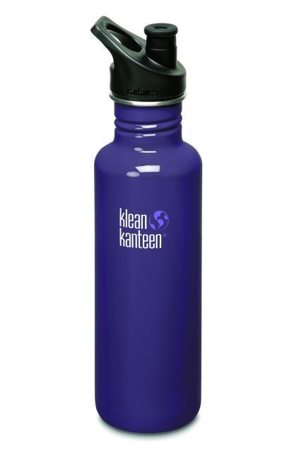 800ml Classic mit Sport Cap - Trinkflasche