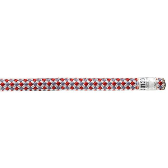 Access - Unicore - 11mm - Statikseil 50m mit 1 Endvernähung   rot/weiß