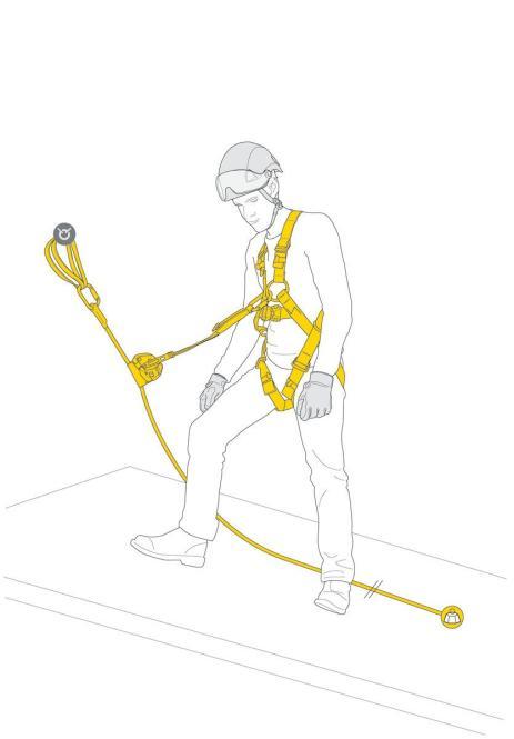 ASAP LOCK Vertical Lifeline - vertikales Seilsystem zur Absturzsicherung mit mitlaufenden Auffanggerät