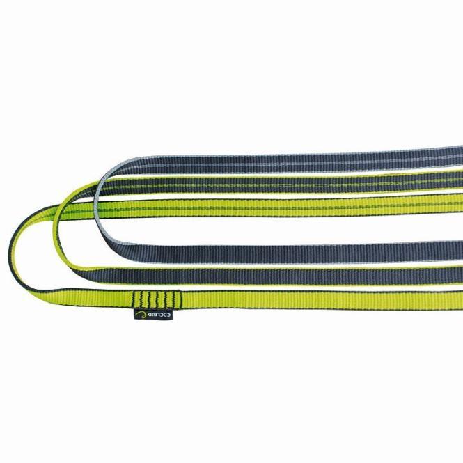 Bandschlinge 16mm 180cm | slate- pepples