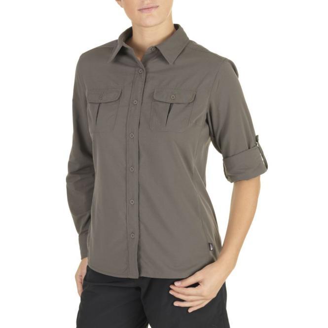 Boulder Kassie - Bluse brown | Größe S