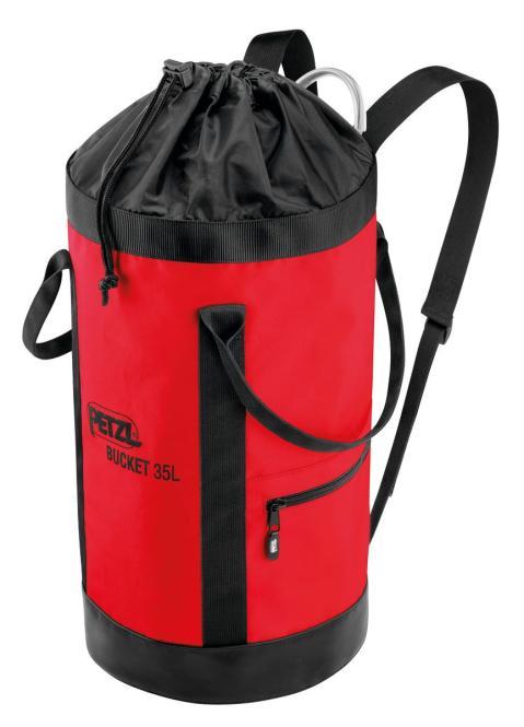 Bucket (rot) - Transportsack 35L