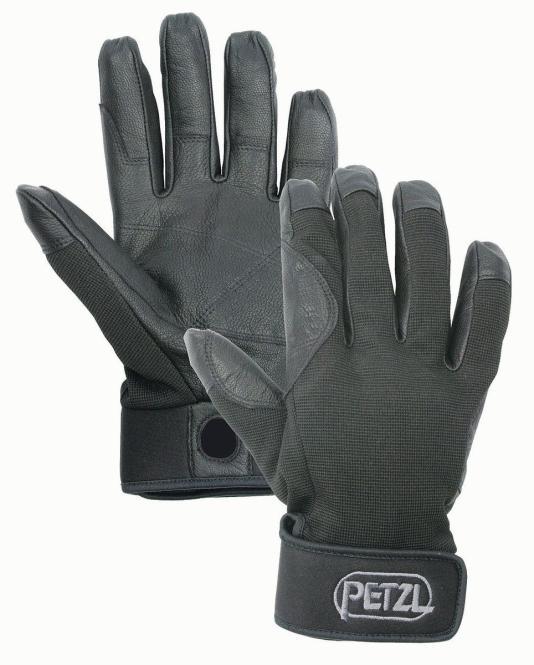 Cordex - Handschuhe zum Sichern und Abseilen Größe M   schwarz