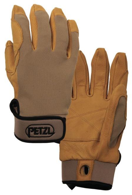 Cordex - Handschuhe zum Sichern und Abseilen Größe XS | beige