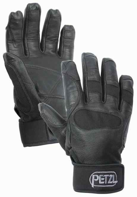 Cordex Plus - Handschuhe zum Sichern und Abseilen Größe S | schwarz