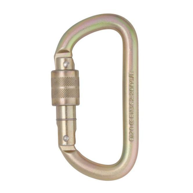 Equal D 10mm - Schraubkarabiner Screw-Lock
