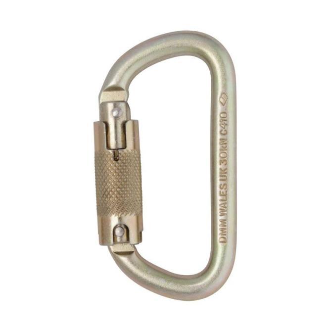 Equal D 10mm - Triact Karabiner Triact-Lock