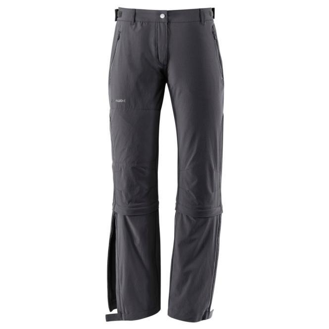 Farley Stretch Capri T-Zip II - Damen Trekkinghose black | Größe 46-long