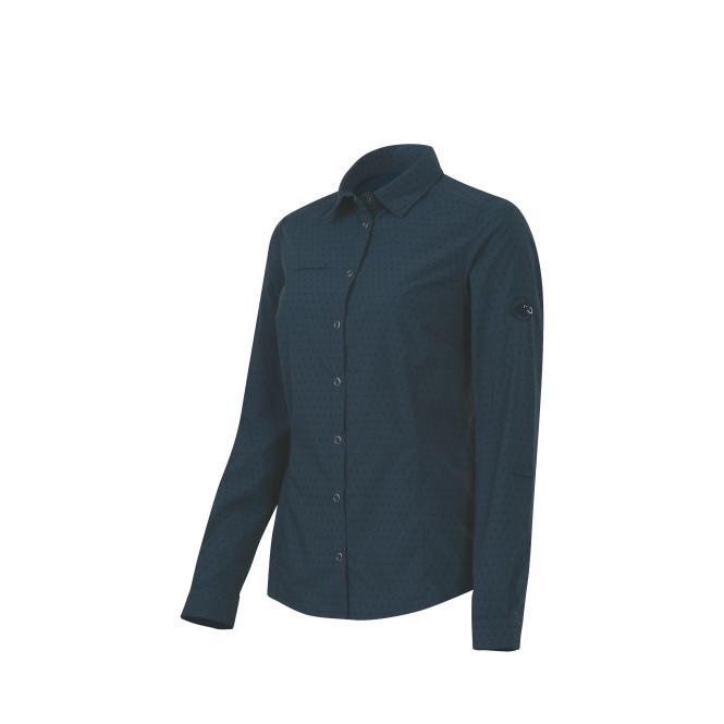 Glider Shirt Long dark space   Größe XS