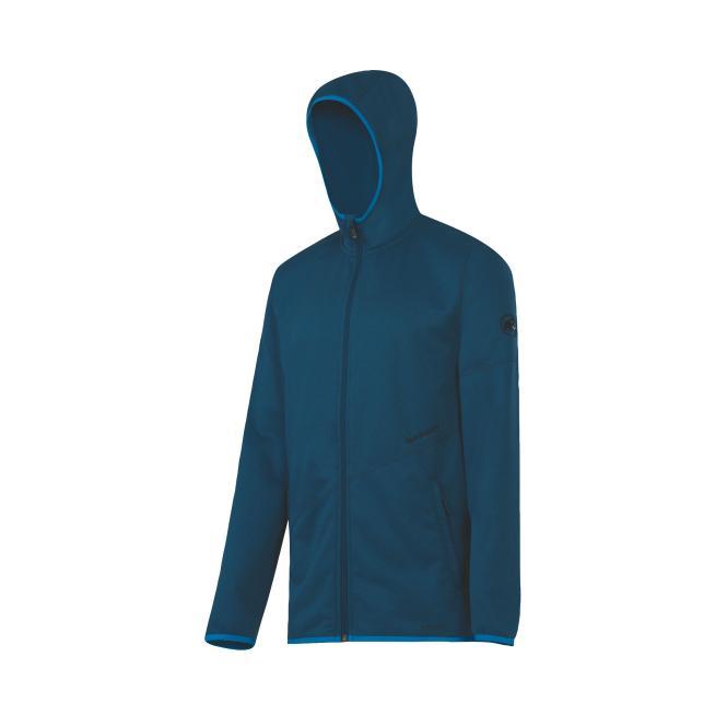 Go Far Hooded Jacket space mélange | Größe S