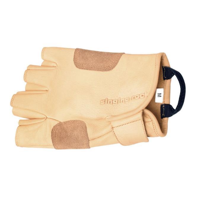 Handschuh Grippy 3/4 - Kletterhandschuhe Größe 8