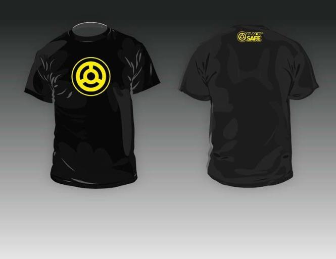Herren Fan Shirt Blacksafe - T-Shirt Größe S