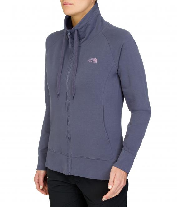 High Neck Full Zip Jacket - Pullover
