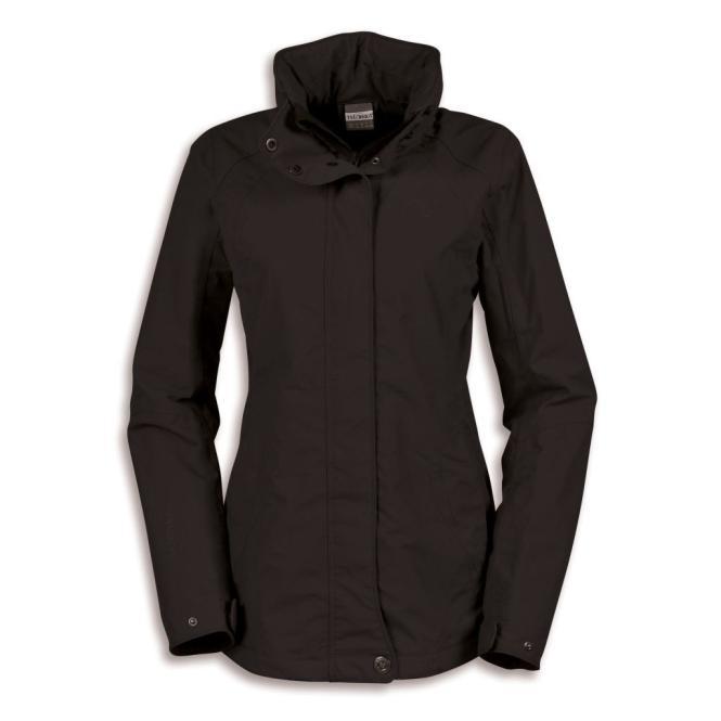 Holtland Jacket - Regenjacke black | Größe 36