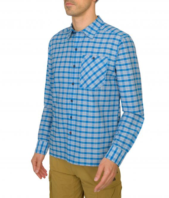 Hypress Shirt - Hemd blue heather | Größe XXL