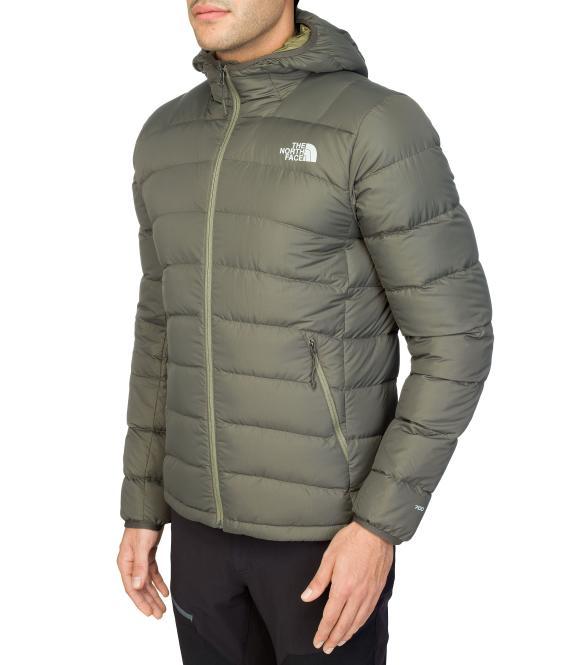 La Paz Hooded Jacket - Daunenjacke black/green | Größe M
