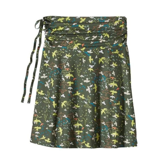 Lithia Skirt - Rock wilder-camp grey | Größe XS