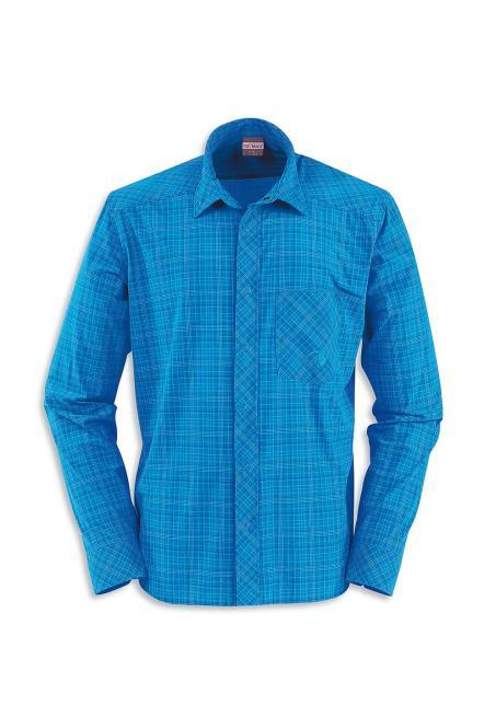 Luis M's LS-Shirt - Hemd blue aster   Größe S