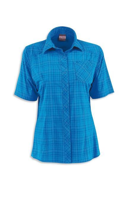 Marti W's SS-Shirt - Bluse blue aster | Größe 38