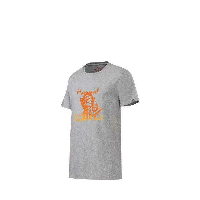 Massone T-Shirt stone grey mélange | Größe S