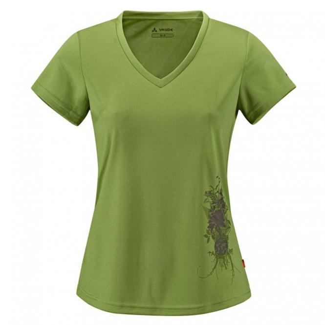 Mayas Shirt VI - T-Shirt green pepper | Größe 44