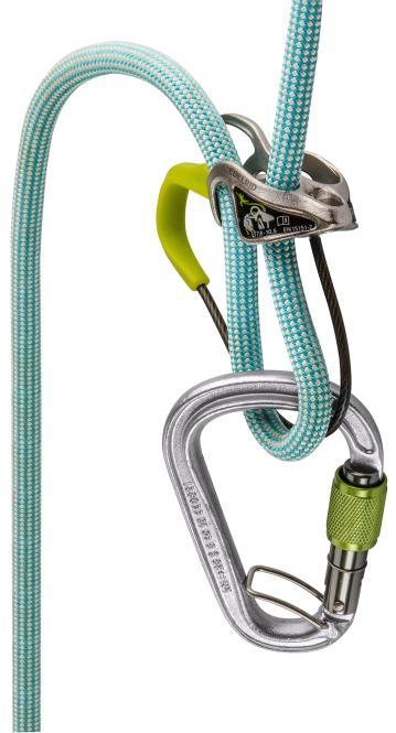 Mega Jul Belay Kit Steel - Sicherungsgerät
