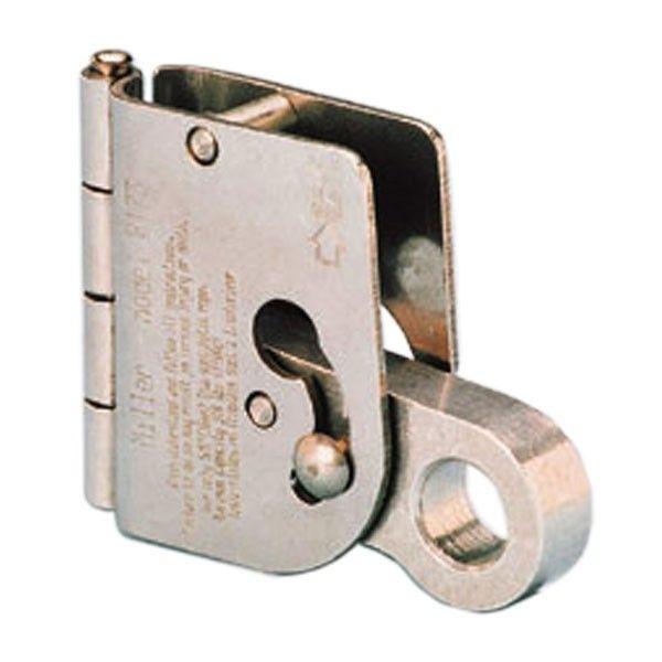 Microloc mitl. Auffangger�t f�r Drahtseil 8mm