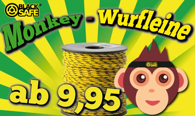Monkey 2.6mm - Wurfleine