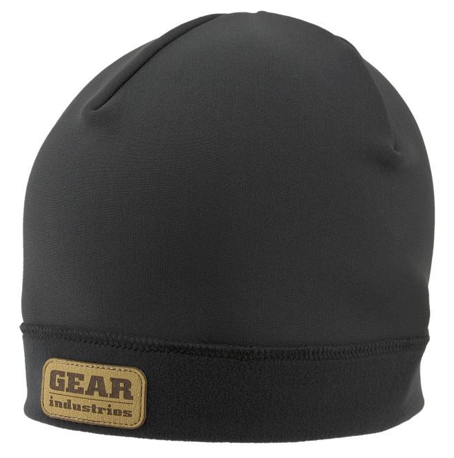 Mütze Gear Industries Logo aus Leder