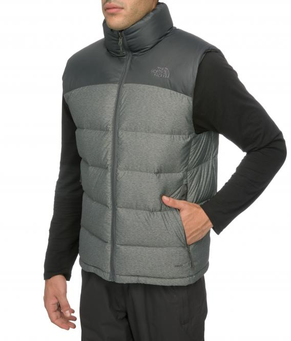 Nuptse 2 Vest - Daunenweste grey heather   Größe L