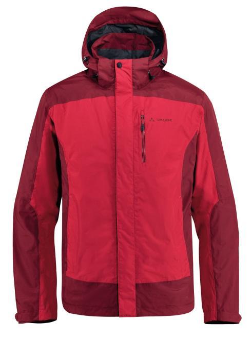 Oulanka Jacket - Regenjacke red | Größe XXL