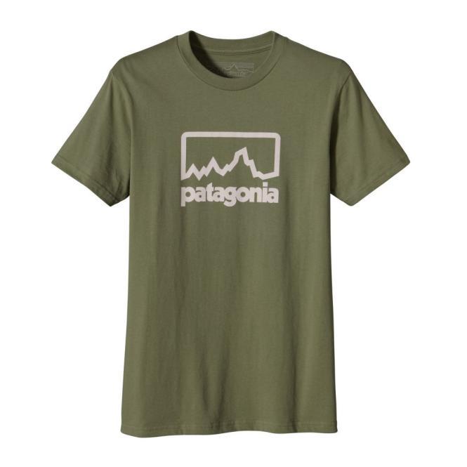 Outline Logo - T-Shirt moss | Größe XL