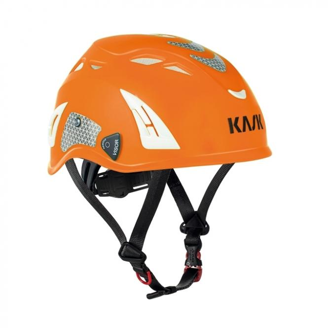 Plasma Hi Viz - Kletterhelm orange