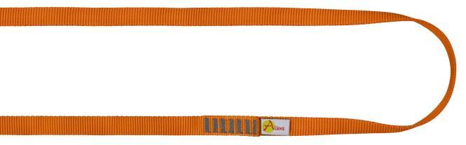 Polyamid Open Sling 16mm - Rundschlinge / Bandschlinge 60cm | orange