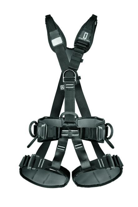 Profi Worker III (Standard) - Industrieklettergurt schwarz | Größe S