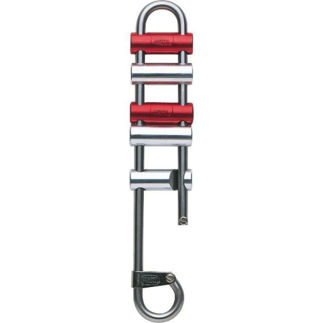 Rack - Abseilgerät mit Bremsbarren