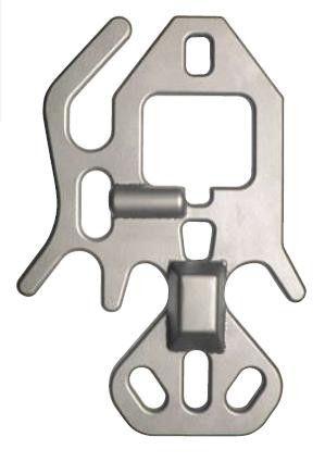 Radeberger Haken RHS08  Aluminium - Abseilgerät