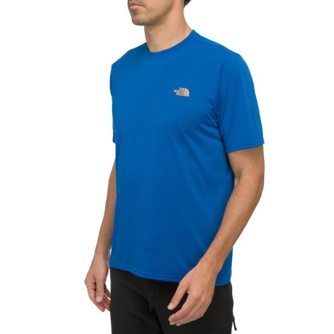 Reaxion Crew - T-Shirt blue | Größe L