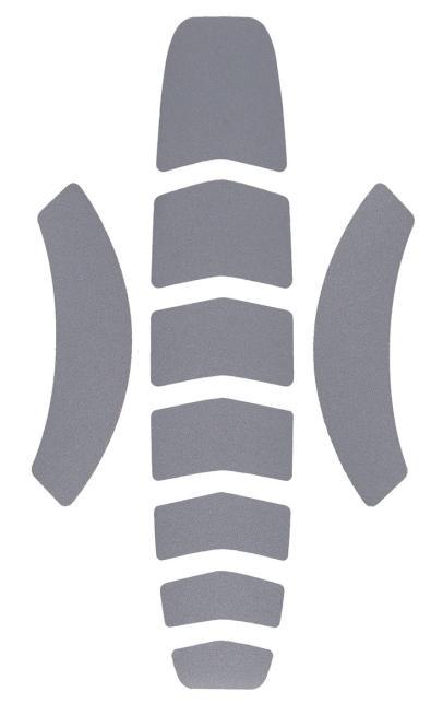 reflektierende Aufkleber für den VERTEX Schutzhelm (ab Modell 2019)