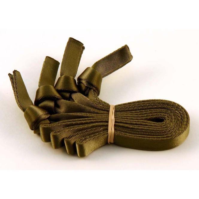 Removable webbing handles green