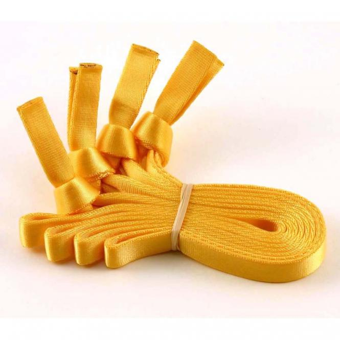 Removable webbing handles yellow