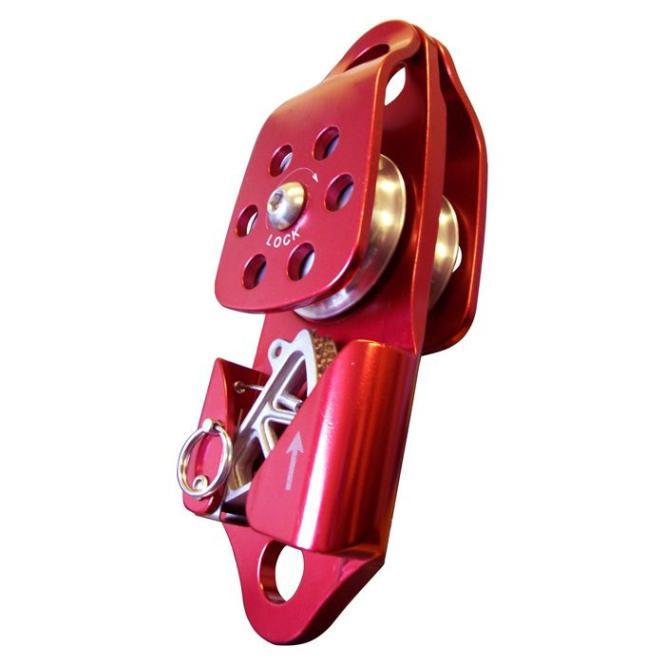 Rettungsrolle SINGLE (Locking) mit integrierter Klemme